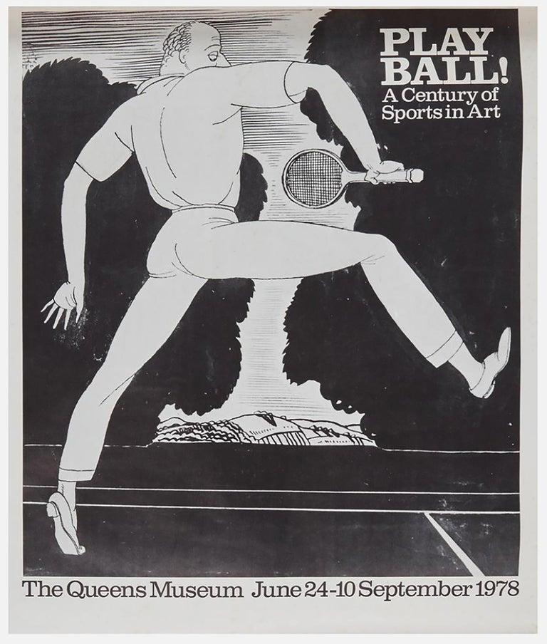 Unknown Figurative Art - Play Ball!