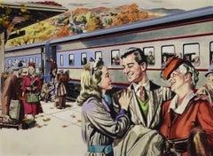 Pullman Advertisement, Saturday Evening Post, 1946