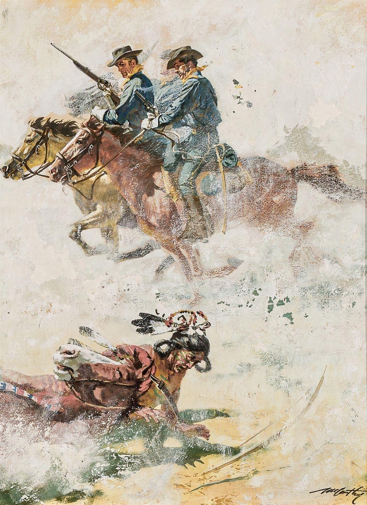Cover Illustration for Rio Bravo