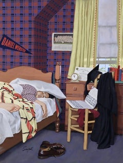 Sleeping In, Saturday Evening Post Cover