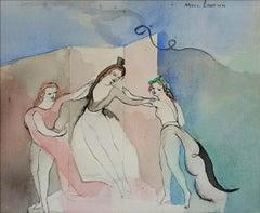 Trois Danseur, Three Dancers