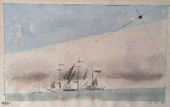 Bauhaus .  Untitled (French Barque under Staysail)