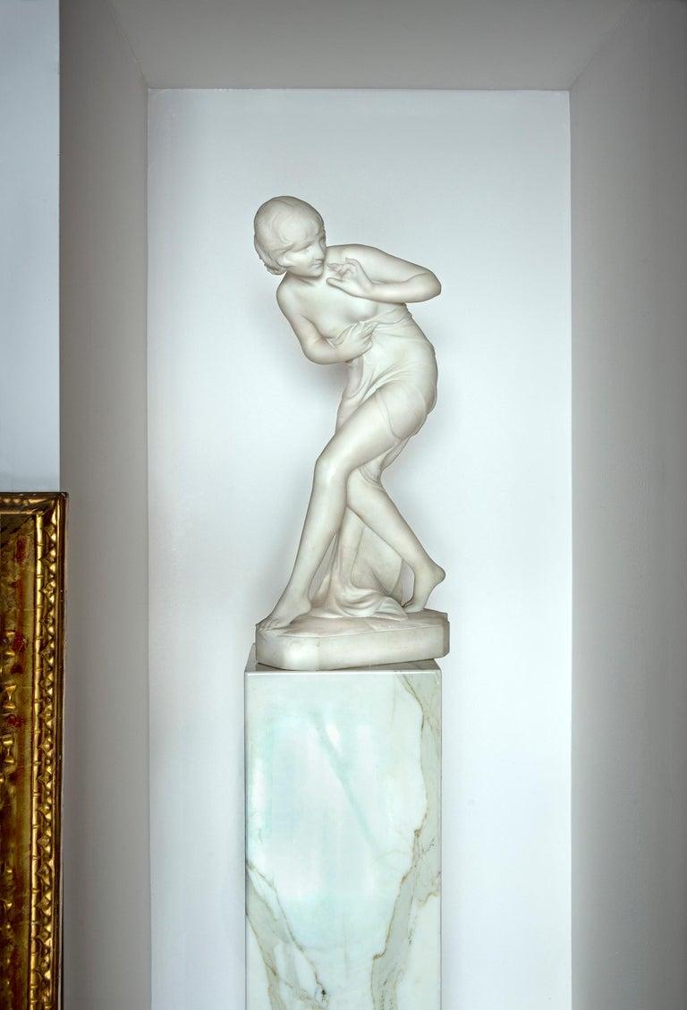 C. Viviani Nude Sculpture - Art Deco FemaleNude