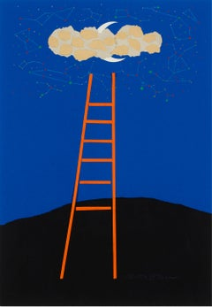 Juilliard School of Music (Ladder) poster - Original art