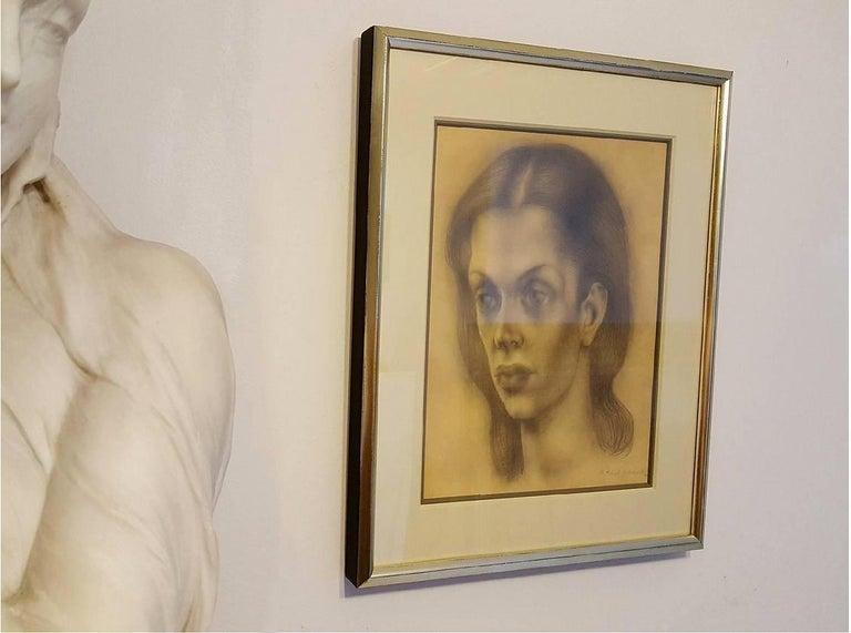 Portrait of Bachoo, Countess Woronzow For Sale 1