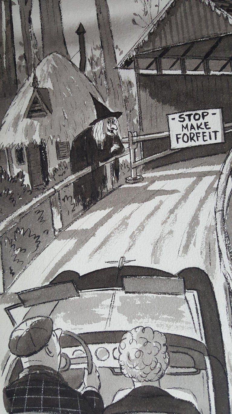 Witch at Covered Bridge,