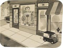 American Modern Drawings and Watercolour Paintings