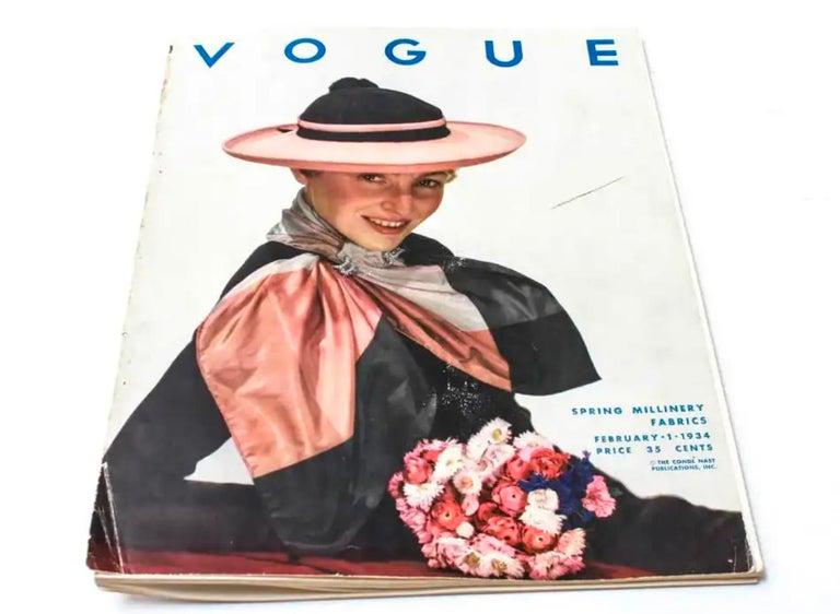 Art Deco Vogue Magazine Illustration  For Sale 2