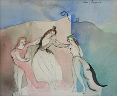 Figurative Drawings and Watercolours