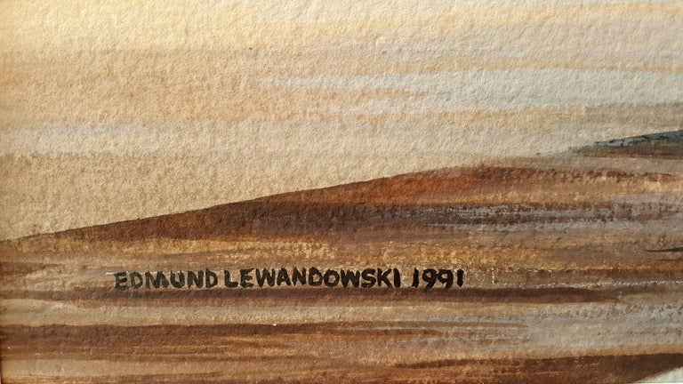Sail Boats - Art by Edmund Lewandowski