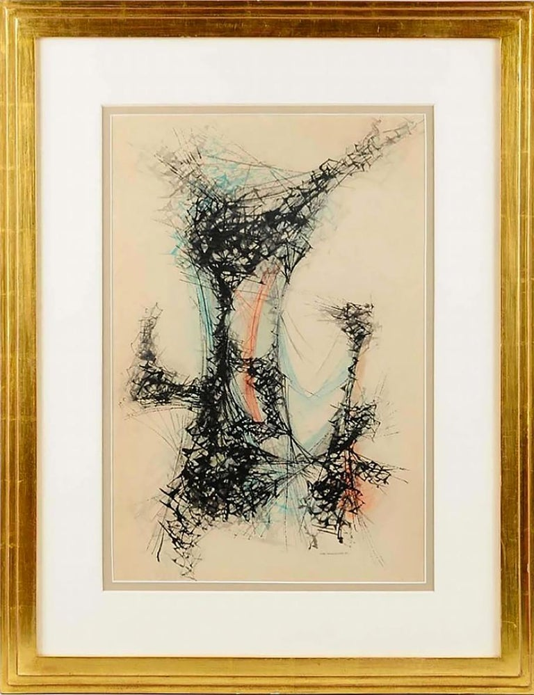 Improversation #3 - Abstract Expressionist Painting by John Sennhauser
