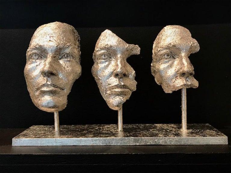 Boky Hackel-Ward Figurative Sculpture - LOSING MYSELF IN YOU
