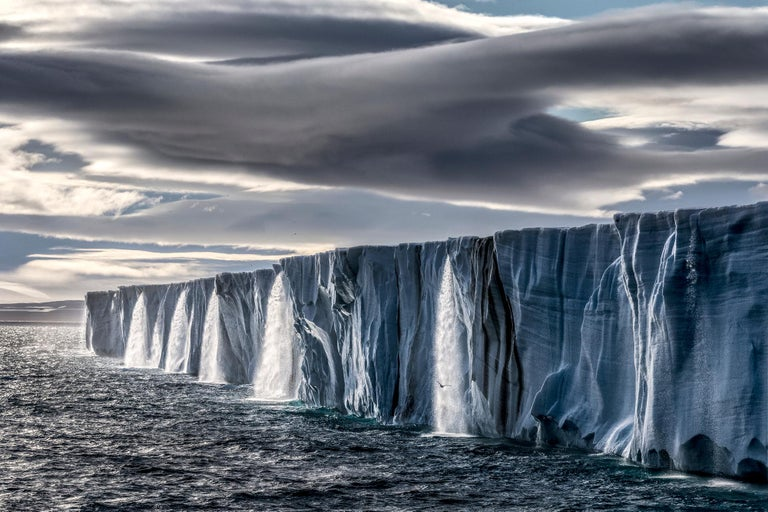 Paul Nicklen Landscape Photograph - Ice Waterfall