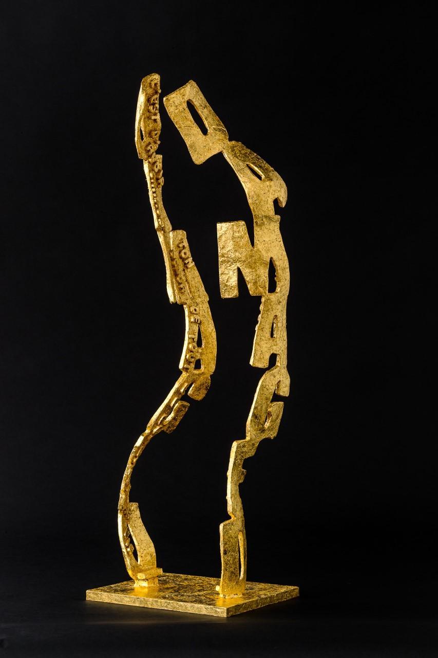 DAMAGED (Gold Leaf)