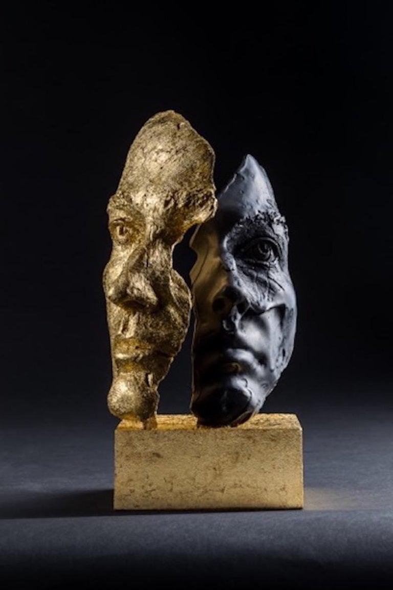 Boky Hackel-Ward Figurative Sculpture - DAS ICH UND DAS ES