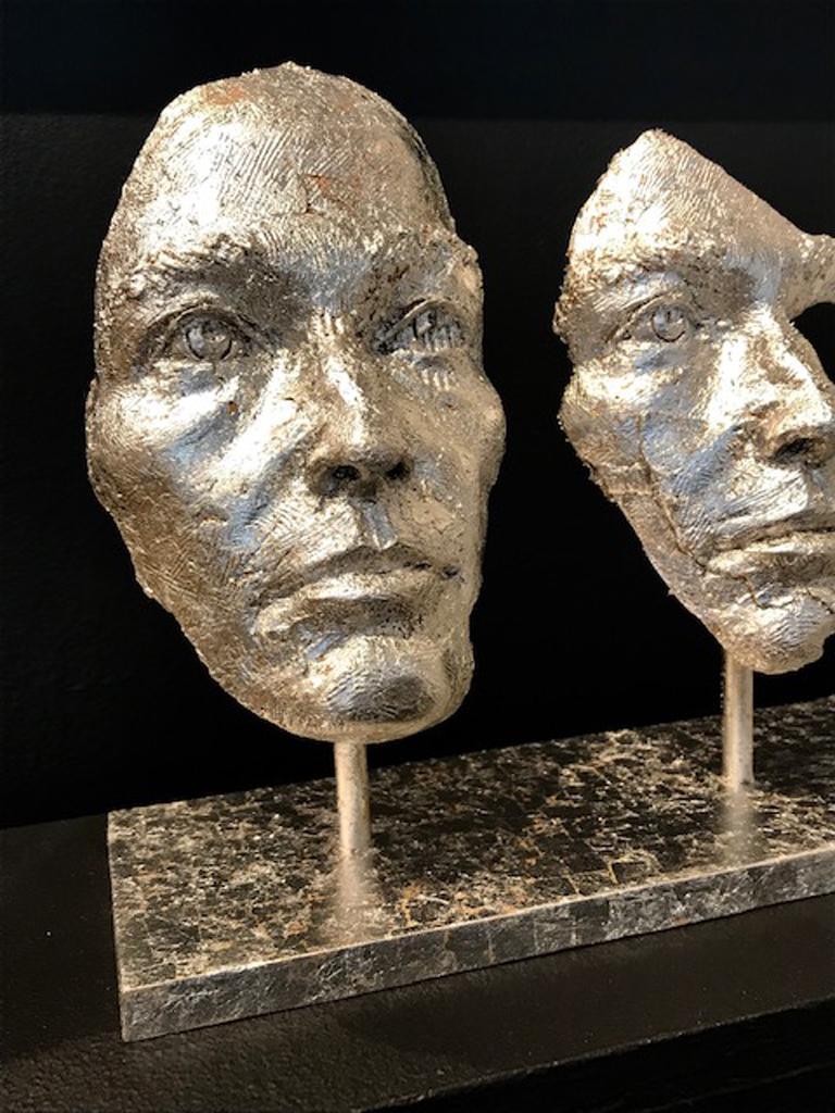 LOSING MYSELF IN YOU - Contemporary Sculpture by Boky Hackel-Ward
