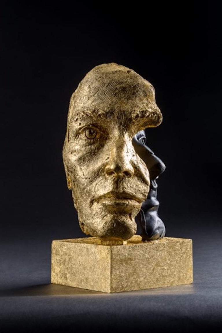 DAS ICH UND DAS ES - Sculpture by Boky Hackel-Ward
