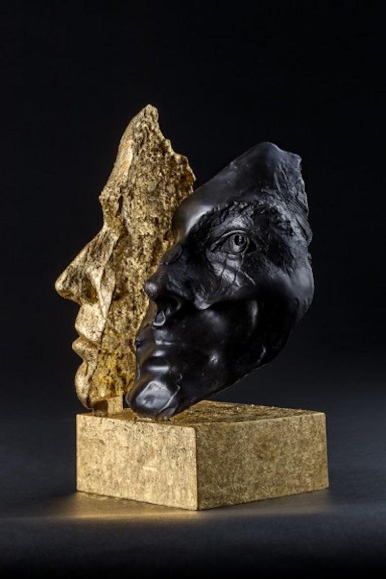 DAS ICH UND DAS ES - Contemporary Sculpture by Boky Hackel-Ward