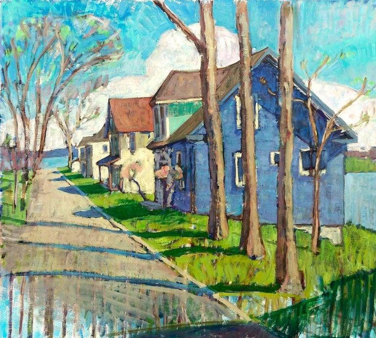 Tim McGuire Landscape Painting - Three Trees