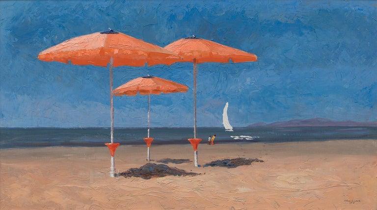 Nelson White Landscape Painting - Bagno La Salute