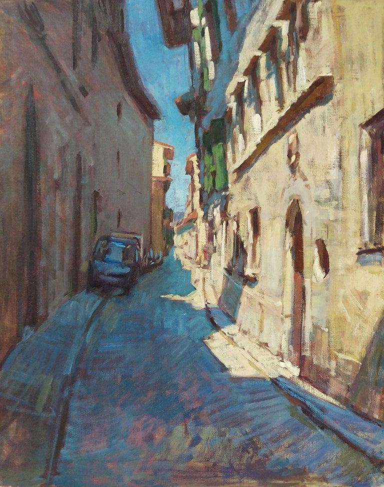 Tim McGuire Landscape Painting - Borgo Pinti