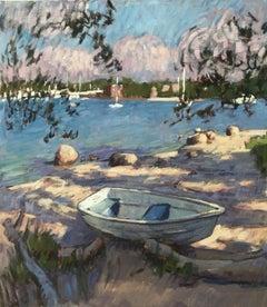 Beached Rowboat