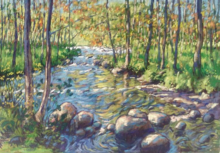 Tim McGuire Landscape Painting - The Creek