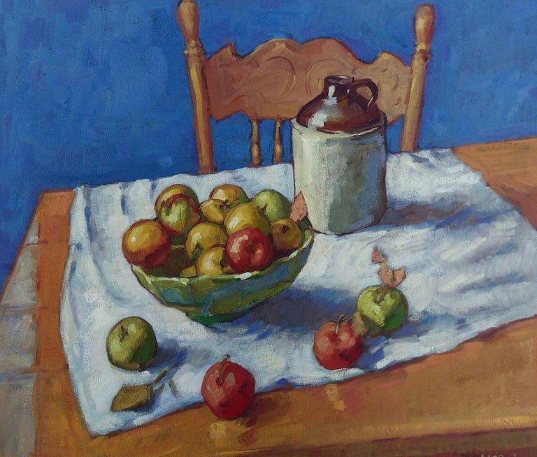 Tim McGuire Interior Painting - Apples in a Bowl