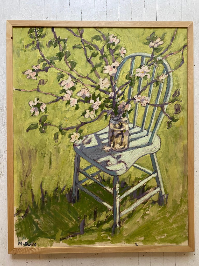 Apple Blossoms - Painting by Tim McGuire