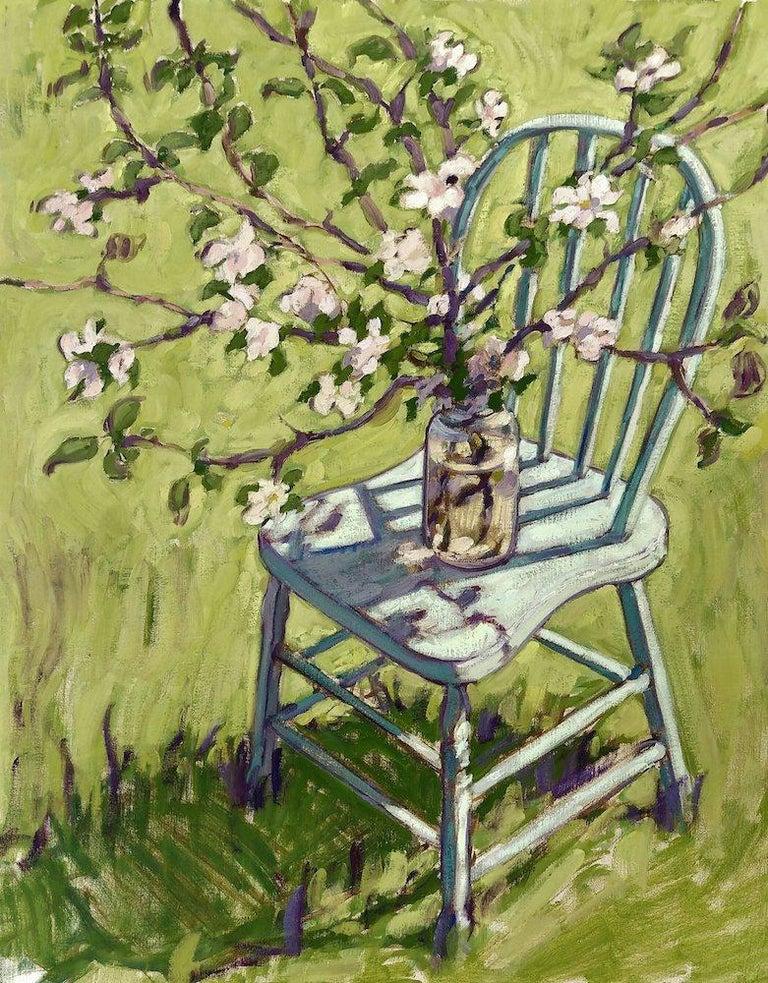 Tim McGuire Still-Life Painting - Apple Blossoms