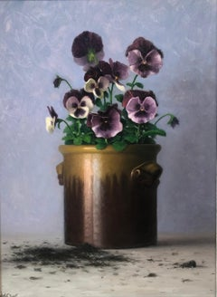 Pansies and Spilled Dirt
