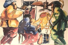 1970s Figurative Drawings and Watercolors