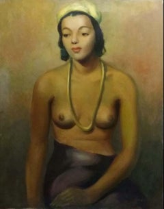 NUDE WITH YELLOW HAT