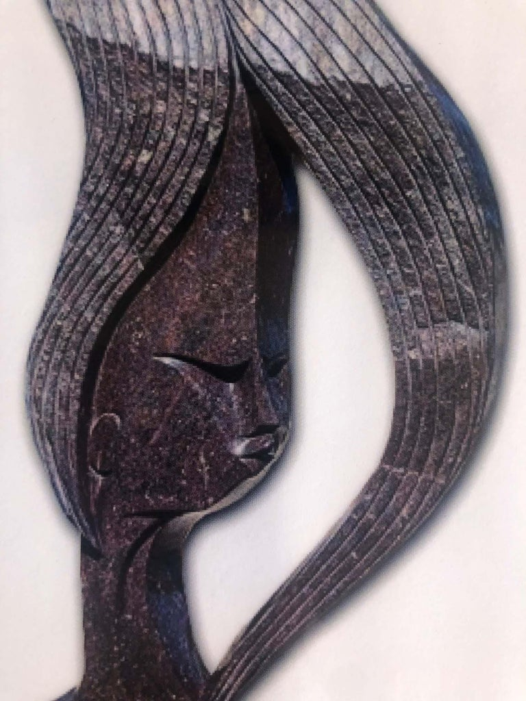 Arrogance, Shona - Sculpture by Tafunga Bonjisi