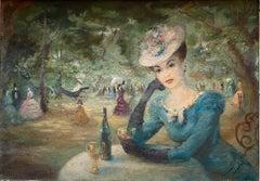 Lady in the Paris Park