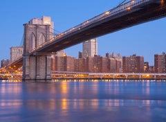 """Brooklyn Bridge"", Urban Cityscape, Color Photography, New York City"