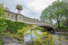 """Bow Bridge, Central Park"", Urban Color Photography, New York City, Manhattan"
