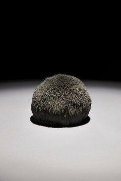 """Force Field Sphere"" Abstract, Volcanic Sand Sculpture by John Ruppert"