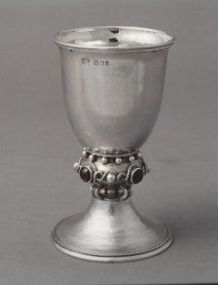 Omar Ramsden Gem set goblet circa 1921