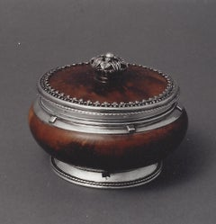 Omar Ramsden Covered Mazer bow with foliate finial circa  1936
