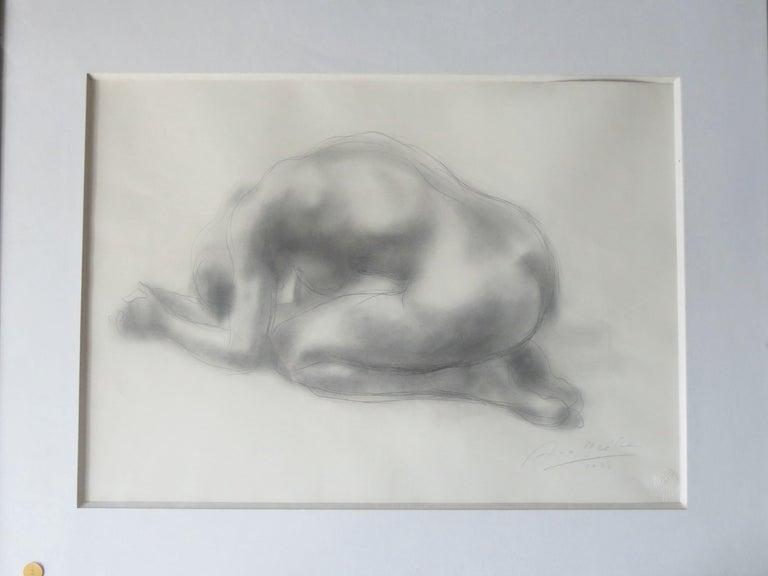 Nude signed Arno Breker  - Modern Art by Arno Breker