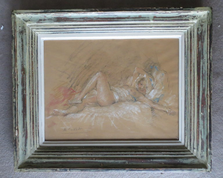 Antoine Calbet Figurative Art - Nude Slumbers