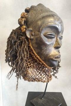 Ancestor Mask Pwo, Tchokwé, Congo RDC