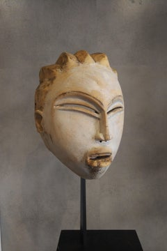 Rare Punu Mask, North Gabon