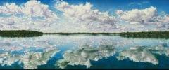 Reflection of Lake Winnibigoshish by Patricia Scott