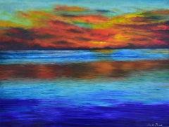 Serene Carribean Sunset