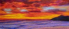 Panoramic Hawaian Sunset