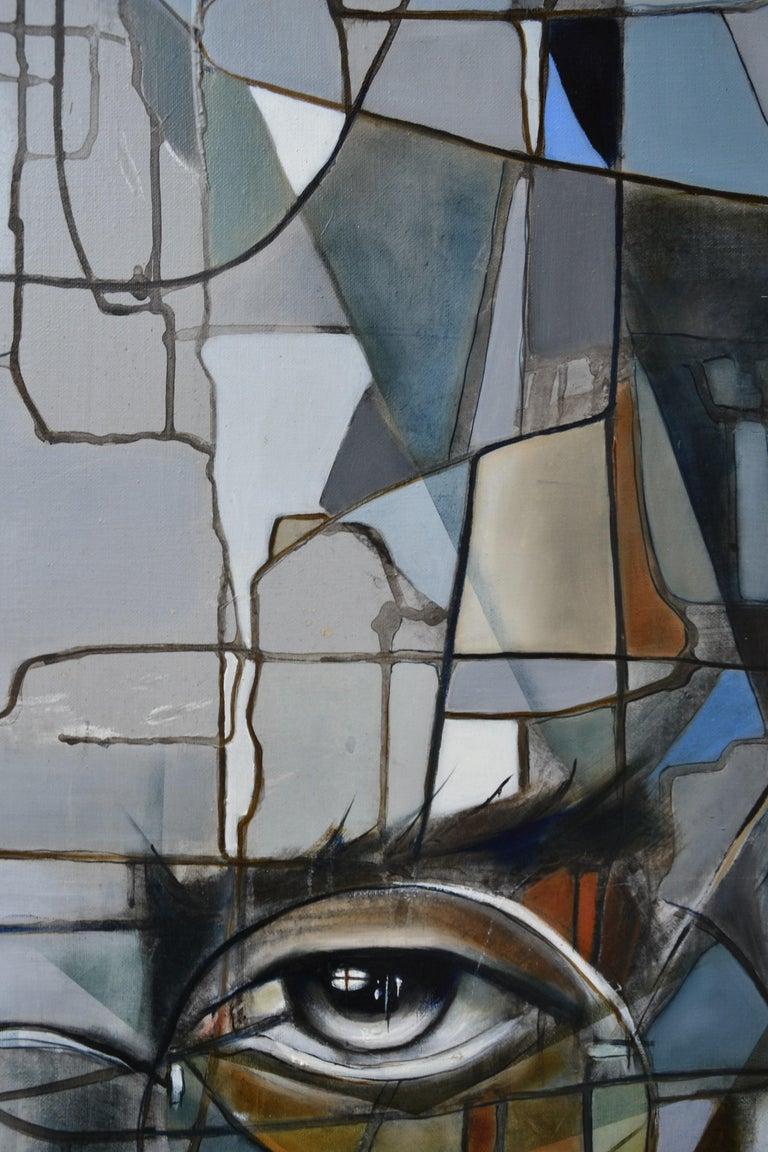 Steve II - Painting by Fréderique Assaël