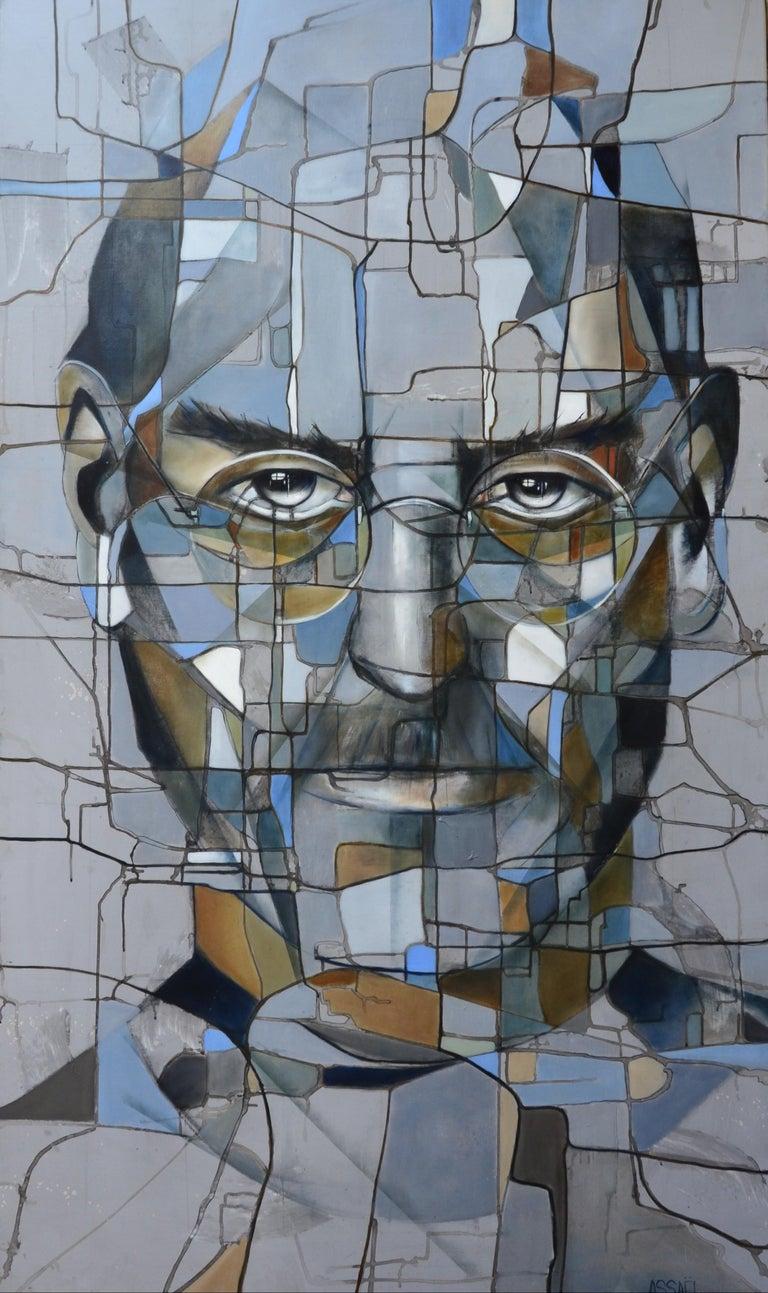Fréderique Assaël Portrait Painting - Steve II