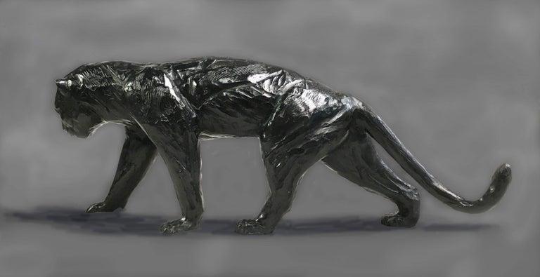 Panthère marchand - Sculpture by Jorge Borras